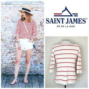 🇫🇷 SAINT JAMES FRANCE Striped Marina Top